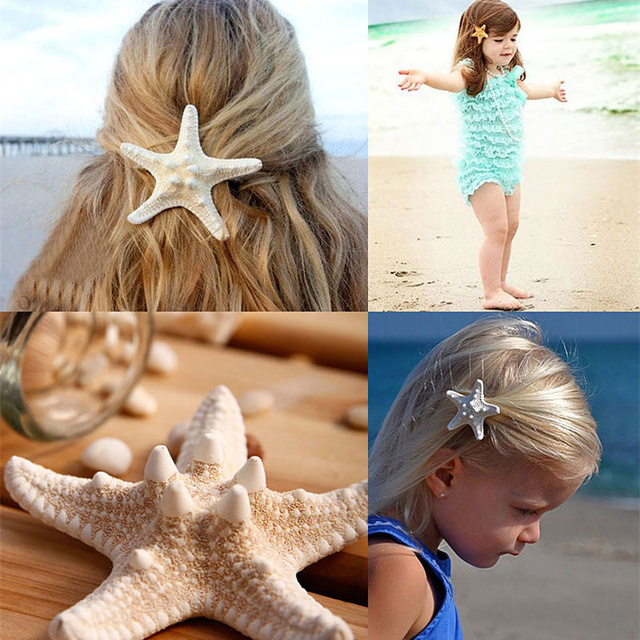 2017 New Hair Accessories Jewelry 2pcs Lot Women S Nice Beach Accessory