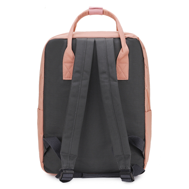 Waterproof Canvas Travel Backpack