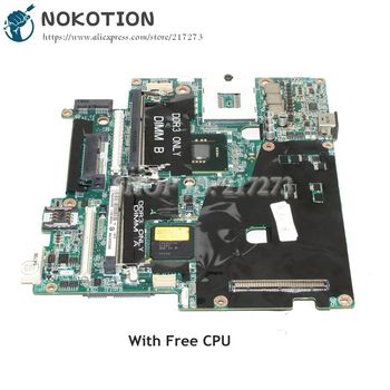 NOKOTION CN-0CDWGG CDWGG For DELL Pecision M6400 Laptop motherboard 31XM1MB00A0 Q43 DDR3 Free CPU