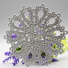 Lace circle flower new Metal Cutting Dies for card making DIY Scrapbooking Embossing stencil Paper Craft hollow Album