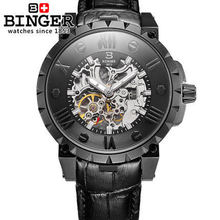 Best Selling Men Sports Military Watches Leather Boyfriend Gift Fashion Binger Wristwatch Outdoor Round Dial Wholesale