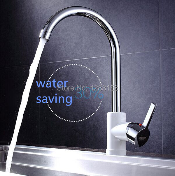 high quality kitchen sink faucets single handle mix hot and cold ...
