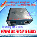 100% Original Octopus Box with 18 Cables for Samsung/Unlock&Flash&Repair Mobile Phone
