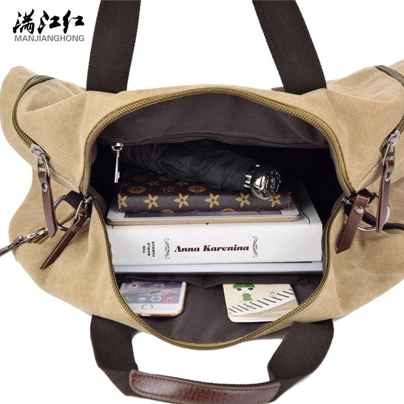 grande bolsa de ombro Composição : Cotton