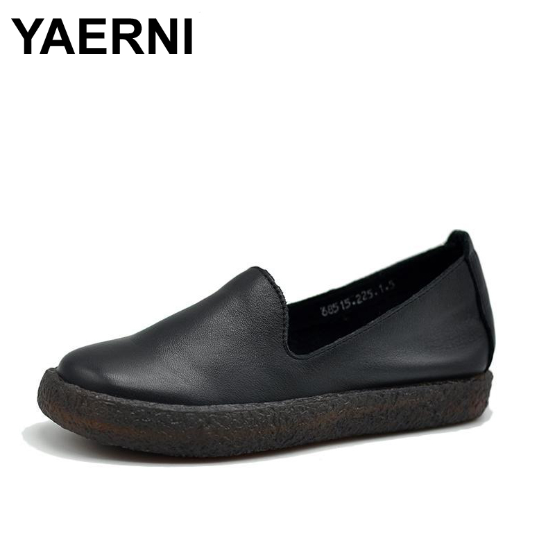 YAERNI Women Crystal Ballet Flats Size 34-43 2017 Spring Solid Gold Bling Cloth Pointed Toe Slip-On Flat Shoes Woman meotina women flat shoes ankle strap flats pointed toe ballet shoes two piece ladies flats beading causal shoes beige size 34 43