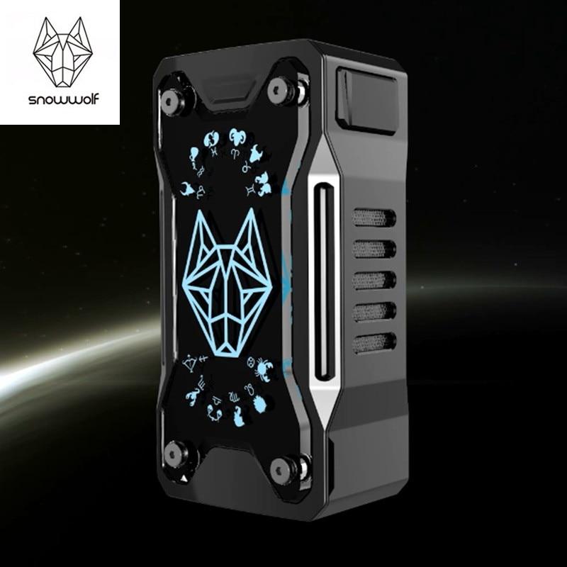 D'origine Snowwolf Xfeng 230 w Mod Cigarette Électronique Boîte Mod 230 W TC Vaporisateur Mod Avec Usb Câble pour e cigarette Mod Kit