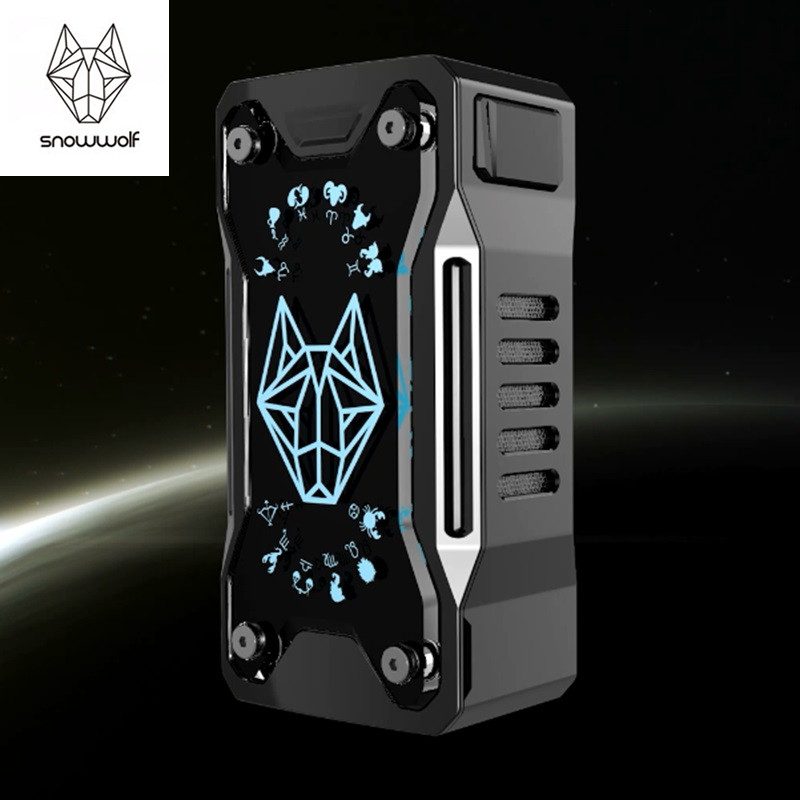 Original Snowwolf Xfeng 230w Mod Electronic Cigarette Box Mod  230W TC Vape Mod With Usb Cable for e cigarette Mod Kit smoant battlestar 200w tc mod electronic cigarette mods vaporizer e cigarette vape mech box mod for 510 thread atomizer x2093