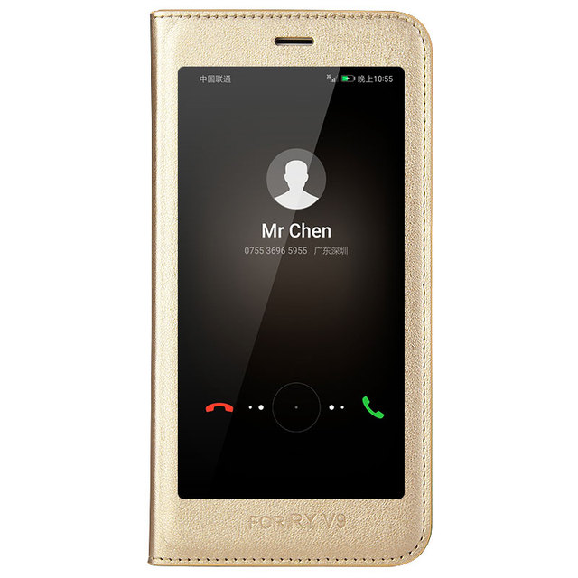 sale retailer 53cba d118e US $13.8 40% OFF|New 8 color for Huawei Honor 8 Pro 5.7'' smart battery  cover intelligent sleep flip phone case for Huawei Honor8 Pro view  window-in ...