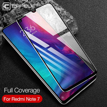 Cafele Full Cover Screen Protector for Xiaomi Redmi Note 7 Tempered Glass 10D HD Clean Protective Film
