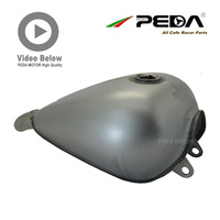 A2 PEDA Cafe Racer Chopper Tank 9L 2.4 Gallon Motorcycle Vintage Customs Bike Fuel tanks Gas Can Retro Petrol For Harley 883 GN