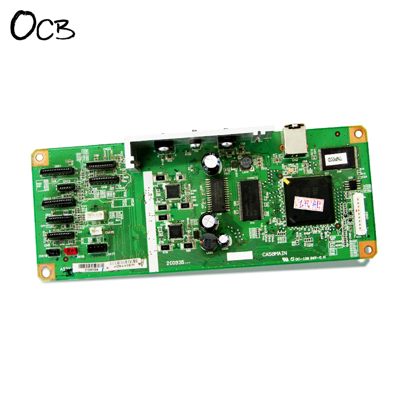 Original CA58MAIN Mainboard Main Board For Epson L1300 ME1100 T1100 T1110 B1100 W1100 Printer Formatter Board