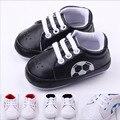 2016 Primavera do bebê da criança de futebol calçados/sapatos fundo macio da criança do bebê antiderrapante/Frete Grátis