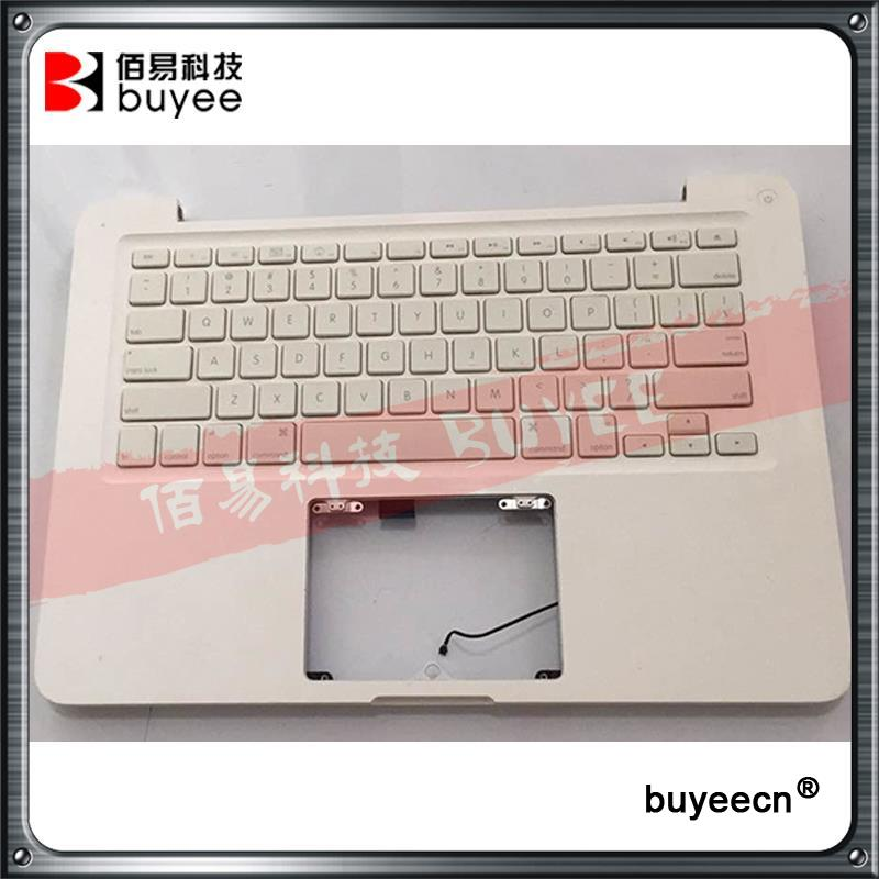 Original Used White A1342 Top Case For Macbook Unibody 13 A1342 Palmrest Palm Rest Topcase With US Layout Keyboard hot sale children boots boys shoes cute toe styling brown gray autumn kids winter shoes fashion toddler boots