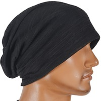 Mens Womens Thin Summer Hat Jerser Beanie Cap Skullcap Cool Hat FORBUSITE