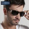 Raykdid 2017 new diseñador de la marca uv 400 4 colores polarizado gafas de sol hombres oculos conducción deportiva gafas gafas anteojos 8459