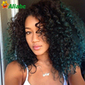 7a Aliabc Hair Brazilian Deep Wave With Closure Brazilian Deep Curly Virgin Hair With Closure 3pcs Weave With Closure Deals