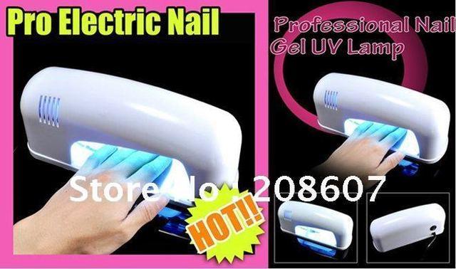 UV Lamp Machine Free Shipping Manicure Machine  9W UV Lamp Machine UV  Gel  Lamp light dryer DIY Tool