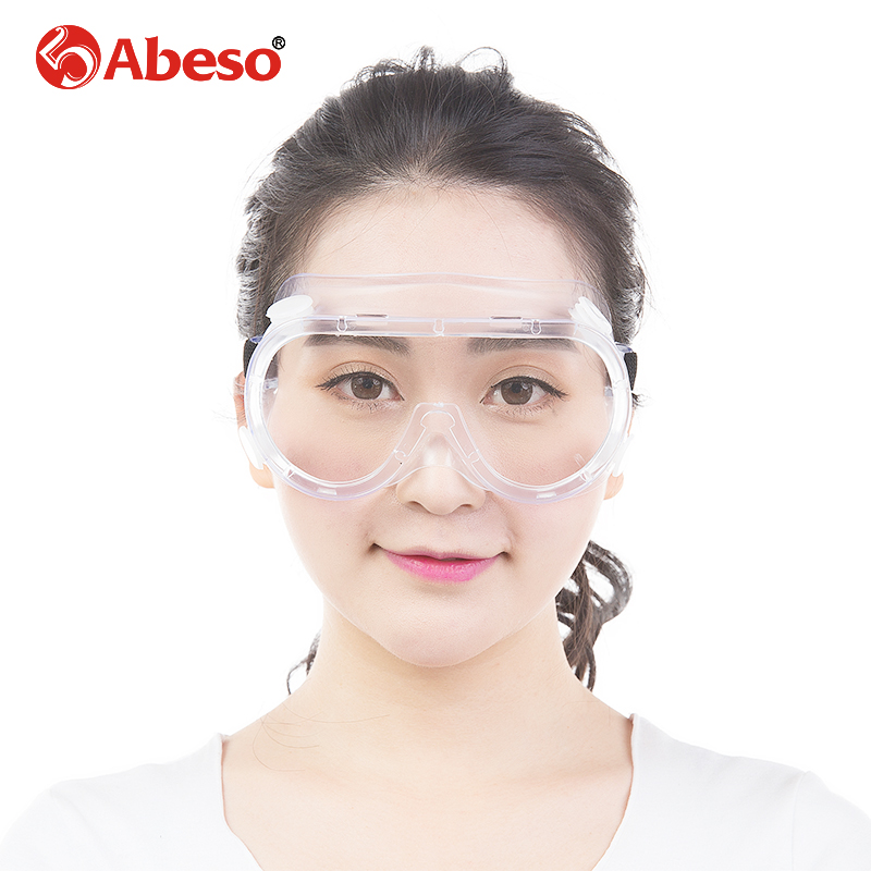 ABESO  Industrial  goggles for electric welding glare sunglasses with Transparent lens safety goggles A7907 glare 30