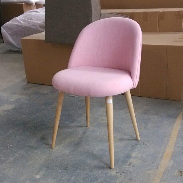 Leisure Chair Birch Wood Legs Foam Fill Seat