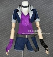 LOL Loose Cannon Slayer Jinx Cosplay Costume E001