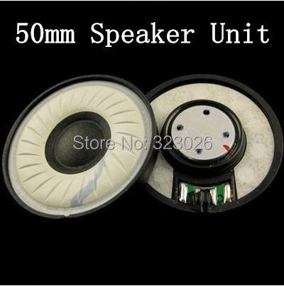 50MM unit speaker wearing silk wool composite cone diaphragm unit  DIY headset accessories