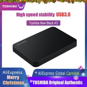 Image 1 - Toshiba Festplatte Tragbare 1 TB 2TB Kostenloser versand Laptops Externe Festplatte 1 TB Disque dur hd Externo USB3.0 HDD 2,5 Festplatte
