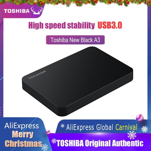 Toshiba Festplatte Tragbare 1 TB 2TB Kostenloser versand Laptops Externe Festplatte 1 TB Disque dur hd Externo USB3.0 HDD 2,5 Festplatte