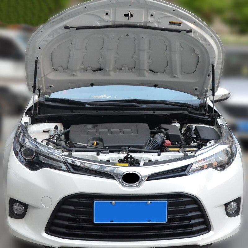 For Toyota Corolla 2014 2015 2016 2017 Hood Cover Hydraulic Rod Strut Telescopic Rod Engine Hood