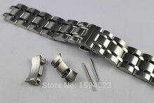 23mm T035617 T035439 Nuevas Piezas de Reloj Hombre pulsera de acero Inoxidable Sólido Correas de Reloj correa Para T035