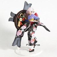 Fate/Grand Order Mash Kyrielight New Year Kimono Ver. PVC Figure Collectible FGO Model Toy