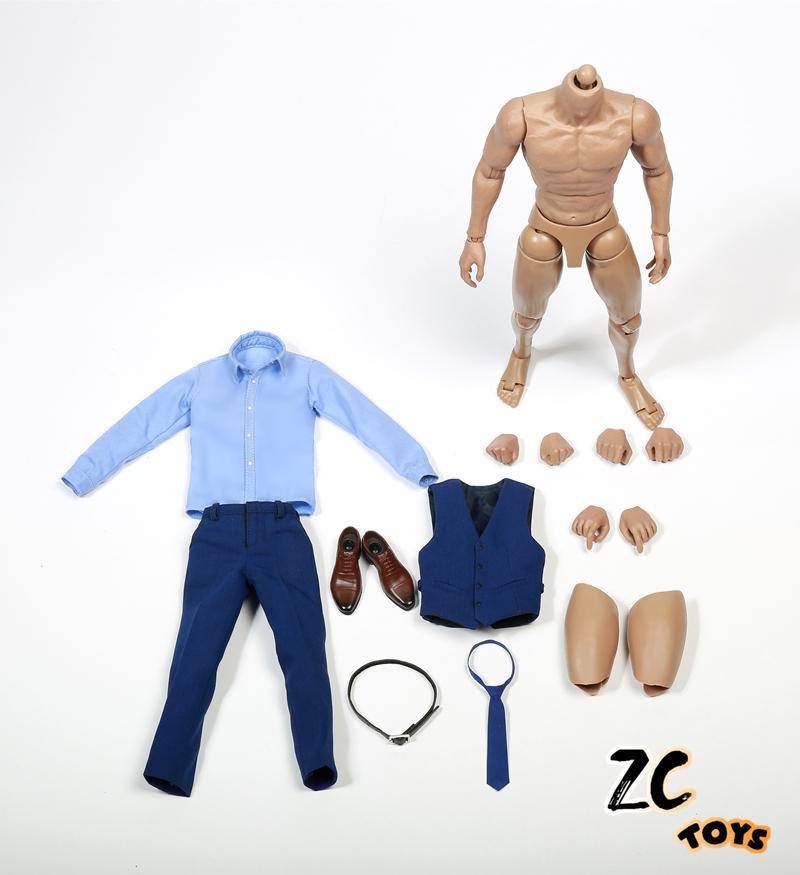 Superman Batman suit BVS Big Ben Batman suit Action Figure Model 1 6 scale batman v superman ben affleck blue clothing suit without head