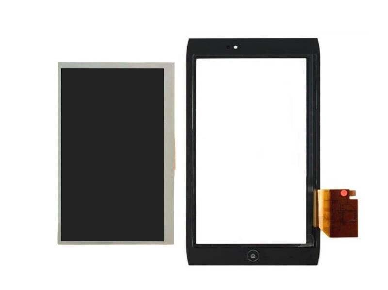 ЖК-дисплей Дисплей Панель Экран Мониторы модуль + Сенсорный экран планшета Стекло Сенсор для Acer Iconia Tab A100 A101 7