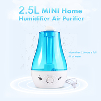 Stylish Design Air Humidifier 25W Practical 2 5L Aroma Diffuser Ultrasonic Humidifier For Home Mist Maker