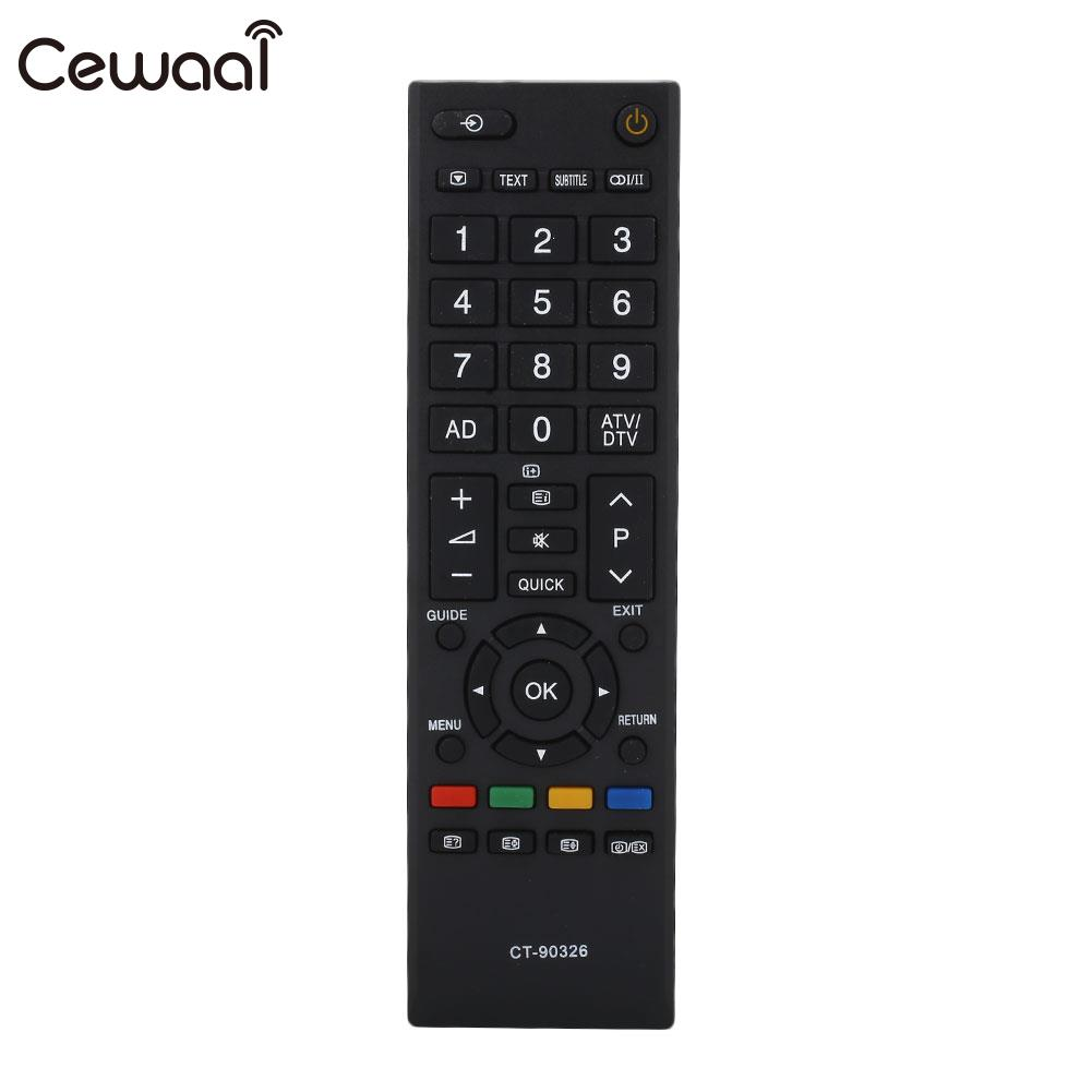 Controller TV <font><b>Remote</b></font> <font><b>Control</b></font> IR <font><b>40</b></font> Keys 433.0MHz 3D LCD Universal New for for Toshiba image