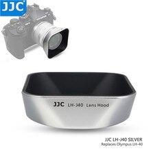JJC Reversible Bayonet Square Lens Hood Shade for Olympus M.ZUIKO DIGITAL 14 42mm 1:3.5 5.6 II R Replaces Olympus LH 40 Black