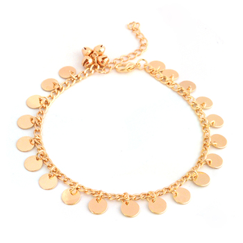 New Bells Round Boho Foot Chain Ankle Summer Bracelet Charm Anklet 5