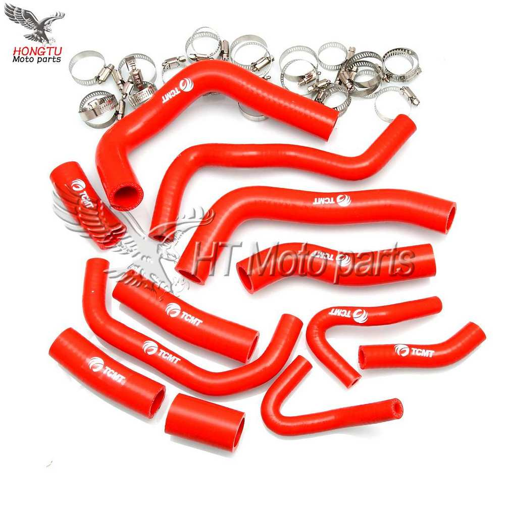 Motorcycle Radiator Silicone Coolant Hose water pipe For Honda CBR1000 RR CBR 1000RR CBR 1000 RR