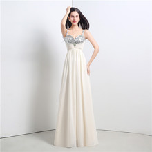 Real Photos Sexy Prom Dress A Line Spaghetti Straps Long
