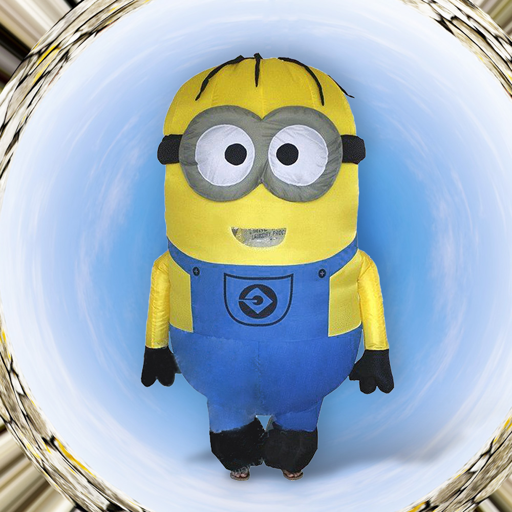 Inflatable Minion Costume Halloween Costumes For Adults Inflatable Despicable Me Minion Costume Christmas Minion Mascot Costume