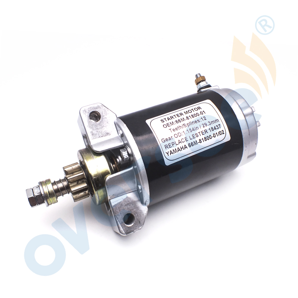 66M 81800 Outboard Motor Starter For YAMAHA Outboard Engine F15ESH 66M 81800 01 66M 81800 00