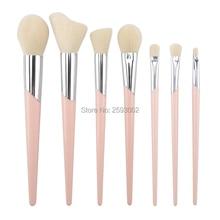 New 7-11 pcs Makeup Brushes Set Professional Skew Footprints makeup brushes Powder Eyeshadow Brush Face Softening Beauty Tools