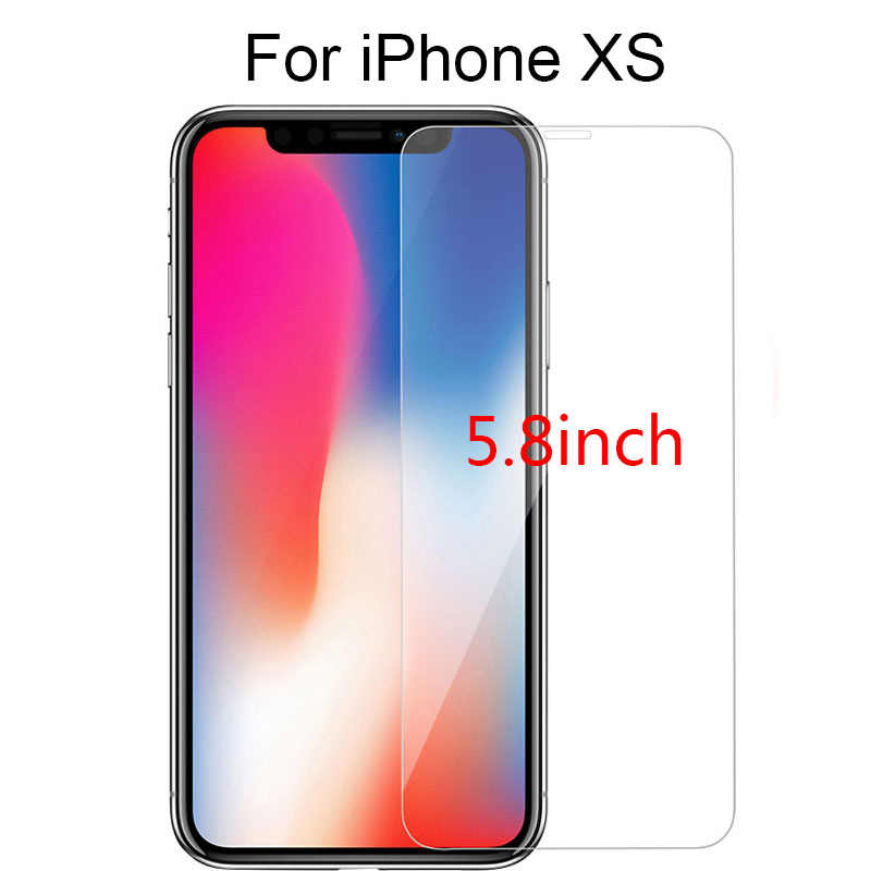 2.5D Protective Film XS MAX XR X 8 7 5S Screen Protector Tempered Glass for IPhone X 8 6 7Plus GlassProtectors Glass Ultra-thin