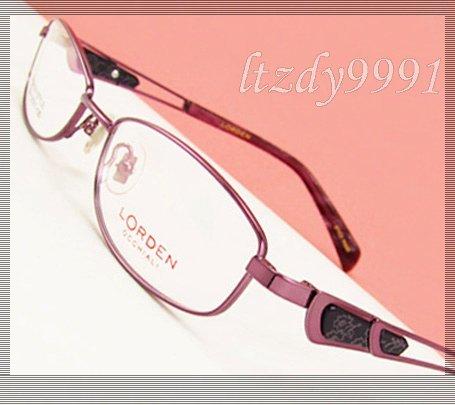 Púrpura Del Metal Ovalada Estrecha Montura Completa de la Prescripción Óptica MARCOS de ANTEOJOS Mujeres Gafas RX Spectacle L7244 Eyewear