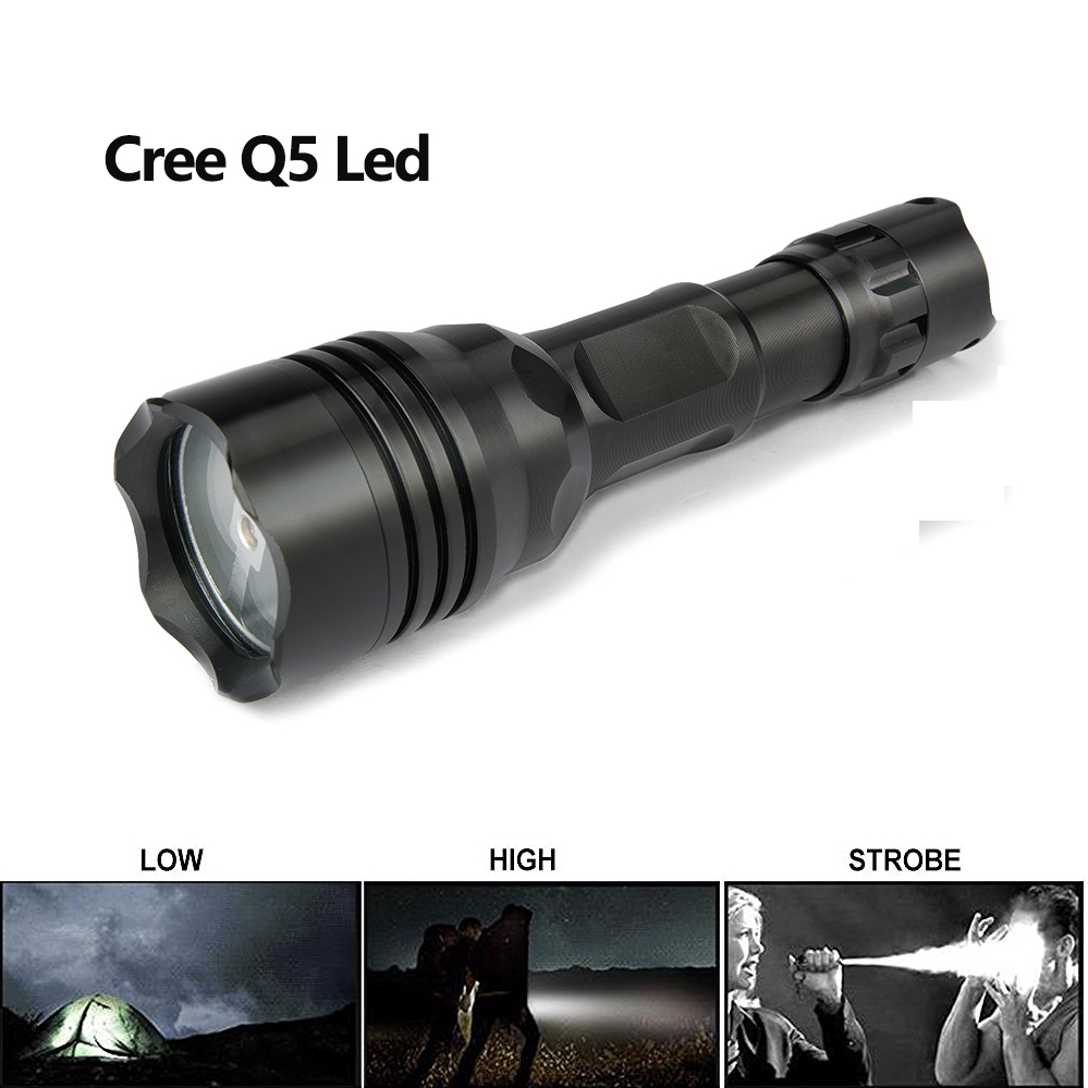 Lights & Lighting Uniquefire Ip65 Waterproof Flashlight Uf-008b Q5 3 Modes Aluminum Alloy Lampe Torch For Camp,hiking,fishing
