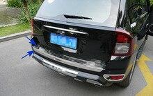 Внешний задний бампер охранник пластина и задние ворота Крышка для Jeep compass 2011 2012 2013 2014 2015