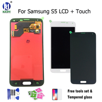 KEDY Compatible For Samsung Galaxy S5 I9600 G900 G900F LCD Display With Touch Screen Digitizer Assembly