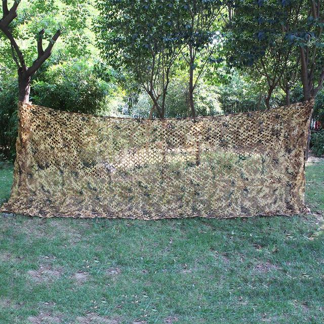 3*4M Hunting Blind Caza Bird Observation Camouflage Net 150D Polyester Oxford Hunting Blind Bird Observation Camouflage Net Tent