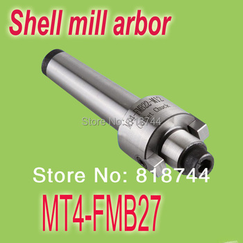 Free Shipping MT4 FMB27 M16 Face Mill Arbor Shell end mill arbor Morse taper tool holder