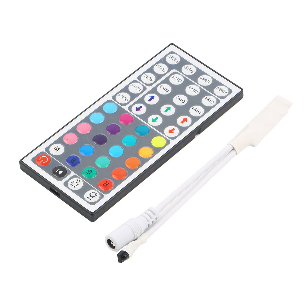 DC12V 6A Mini Led Controller 44Key IR Remote Controller For Flexible Tape 5050 3528 SMD RGB LED Strip Light