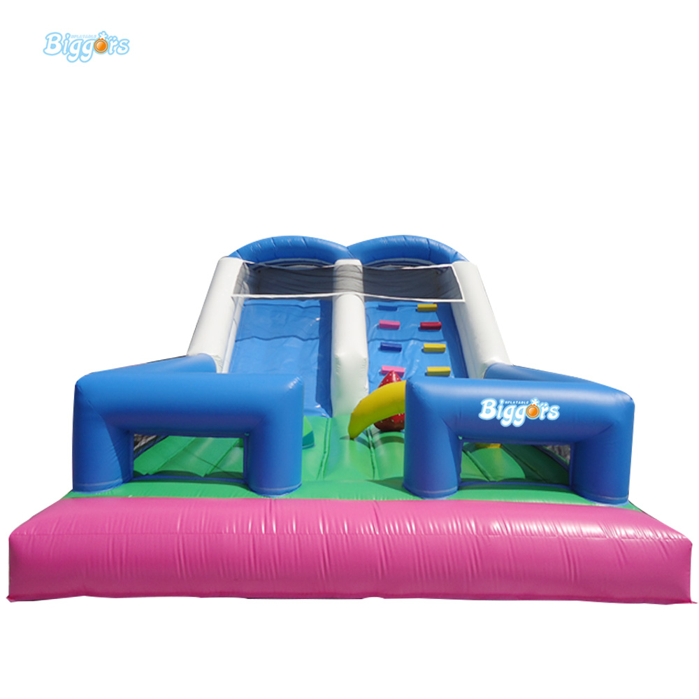 Jumping Castles Inflatable Grass Water Slide For Children children shark blue inflatable water slide with blower for pool